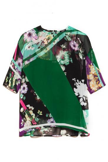 Damen Bluse Bunt