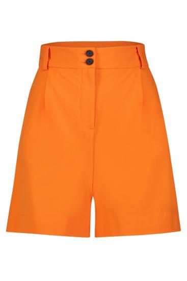 Damen Shorts Orange