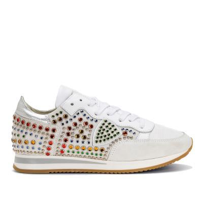 Damen Sneaker Tropez Carioca Grau Weiss