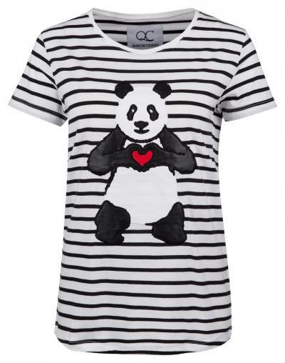 """Damen T-Shirt """"Love Fighter"""" Weiss"""