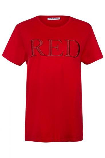 """Damen T-Shirt """"Red"""" Rot"""