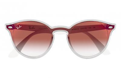 Damen Sonnenbrille Blaze Rot Verlauf