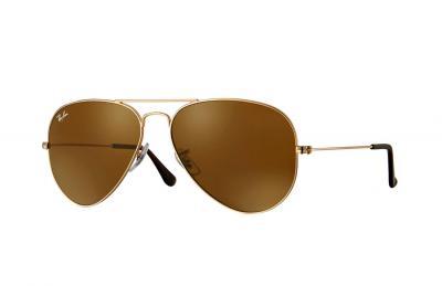 Sonnenbrille Aviator Gradient Hellbraun Verlauf