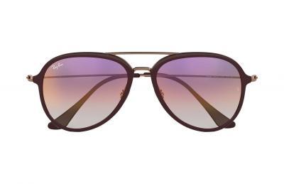 Sonnenbrille RB4298 Bronze-Kupfer Violett Verlauf