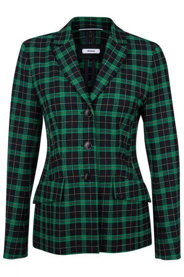 Damen Blazer mit Reverskragen Grün