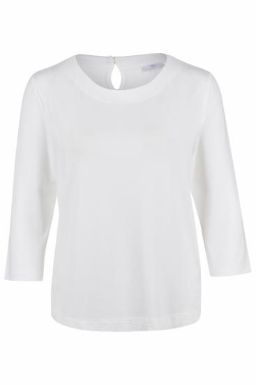 Damen Shirt Natur Weiss
