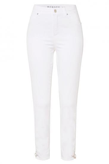 Damen High Waist Jeans Audrey2 Weiss
