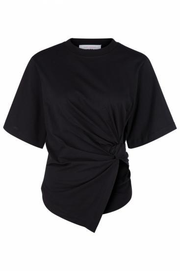 Damen Specialcut T-Shirt Schwarz