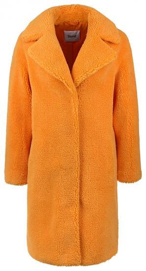 "Damen Plüschmantel ""Camille Coocon"" Orange"