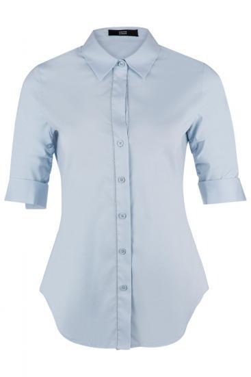 Damen Bluse Aqua