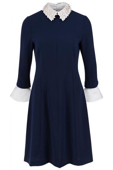 "Damen Kleid ""Florence"" Deep Ocean"