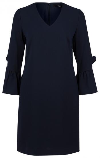 Damen Kleid mit Volants Midnight