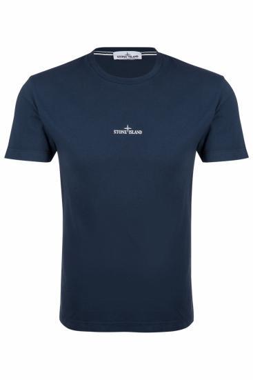 Herren Logo T-Shirt Navy