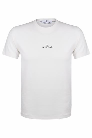 Herren Logo T-Shirt Weiss