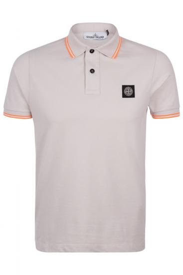 Herren Piqué Poloshirt Kitt