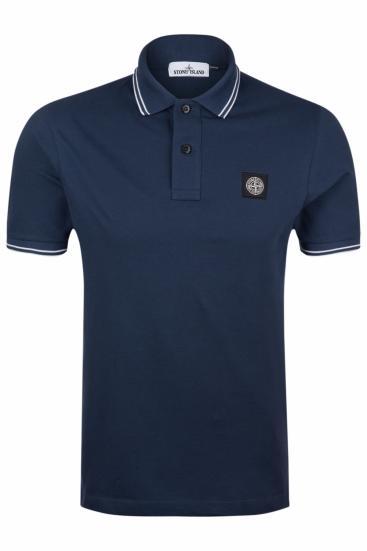 Herren Poloshirt Marineblau