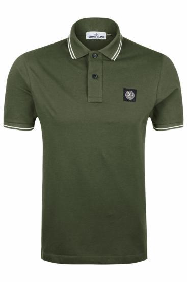 Herren Poloshirt Olive