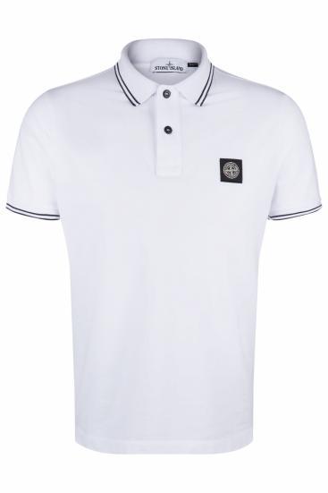 Herren Poloshirt Weiss