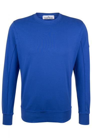 Herren Sweatpullover Blauviolett