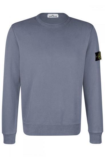 Herren Sweatpullover Grau/Blau