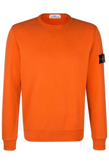 Herren Sweatpullover Orange