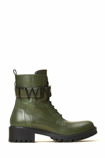 Damen Boots Olive