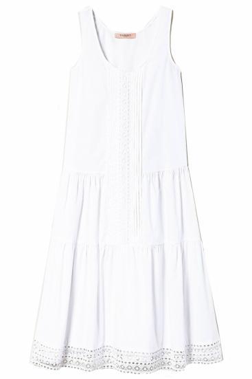 ärmelloses Damen Kleid Weiss