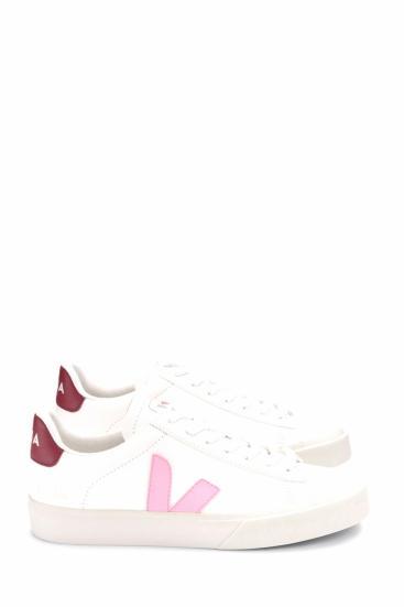 Damen Sneaker Campo Chromefree Extra Marsala Weiss