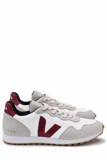 Herren Sneaker B-Mesh White Marsala