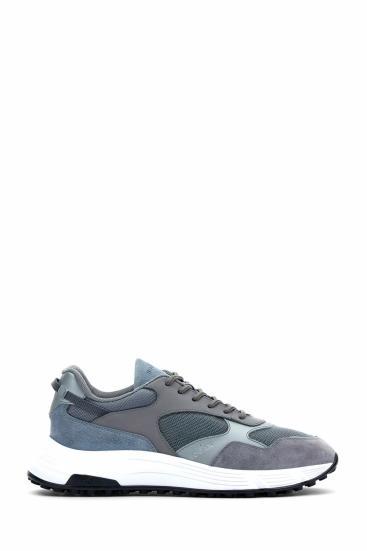 Herren Sneaker Hyperlight Allacciato Hellgrau