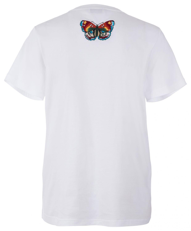 Etro Damen T-Shirt Circus Weiss 2