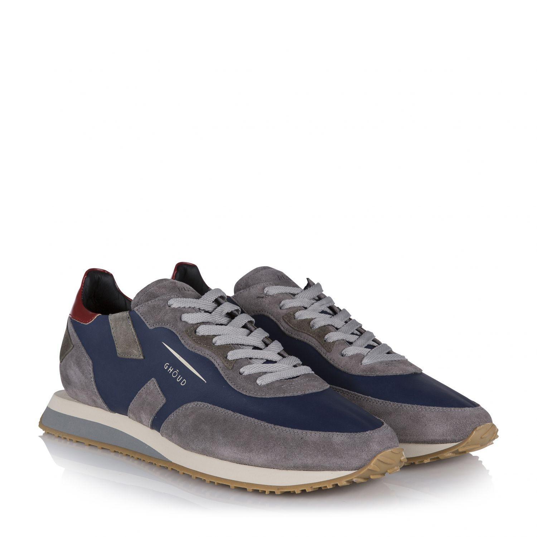 Stone Island Blaue Wildleder Sneakers Herren :