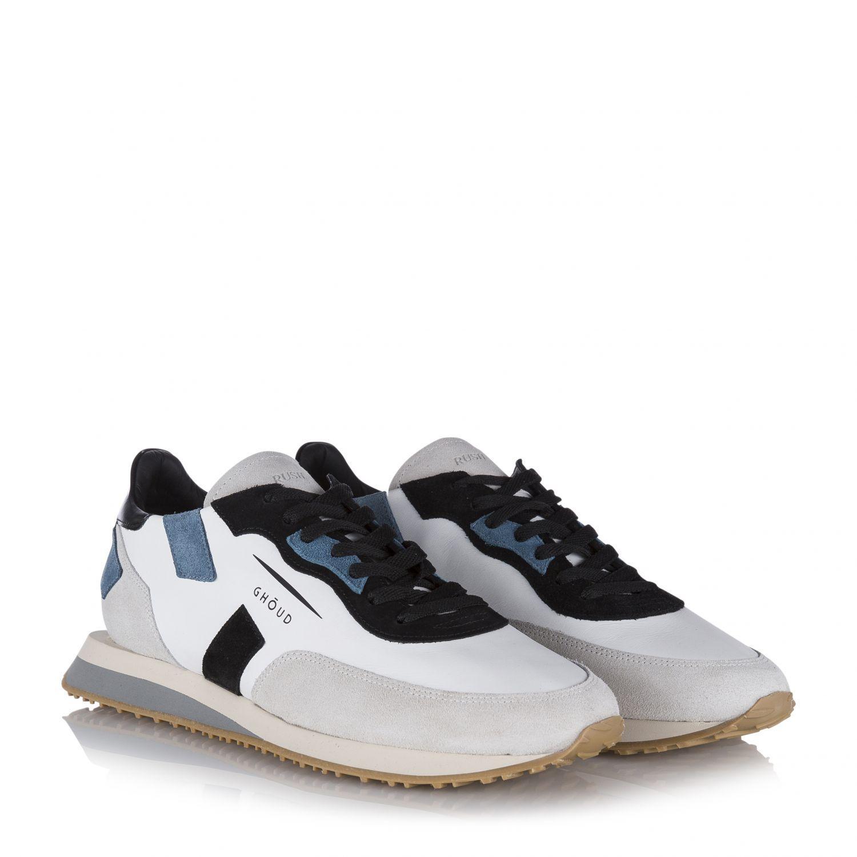 "Ghoud Herren Ledersneaker ""Rush"" Weiss 2"