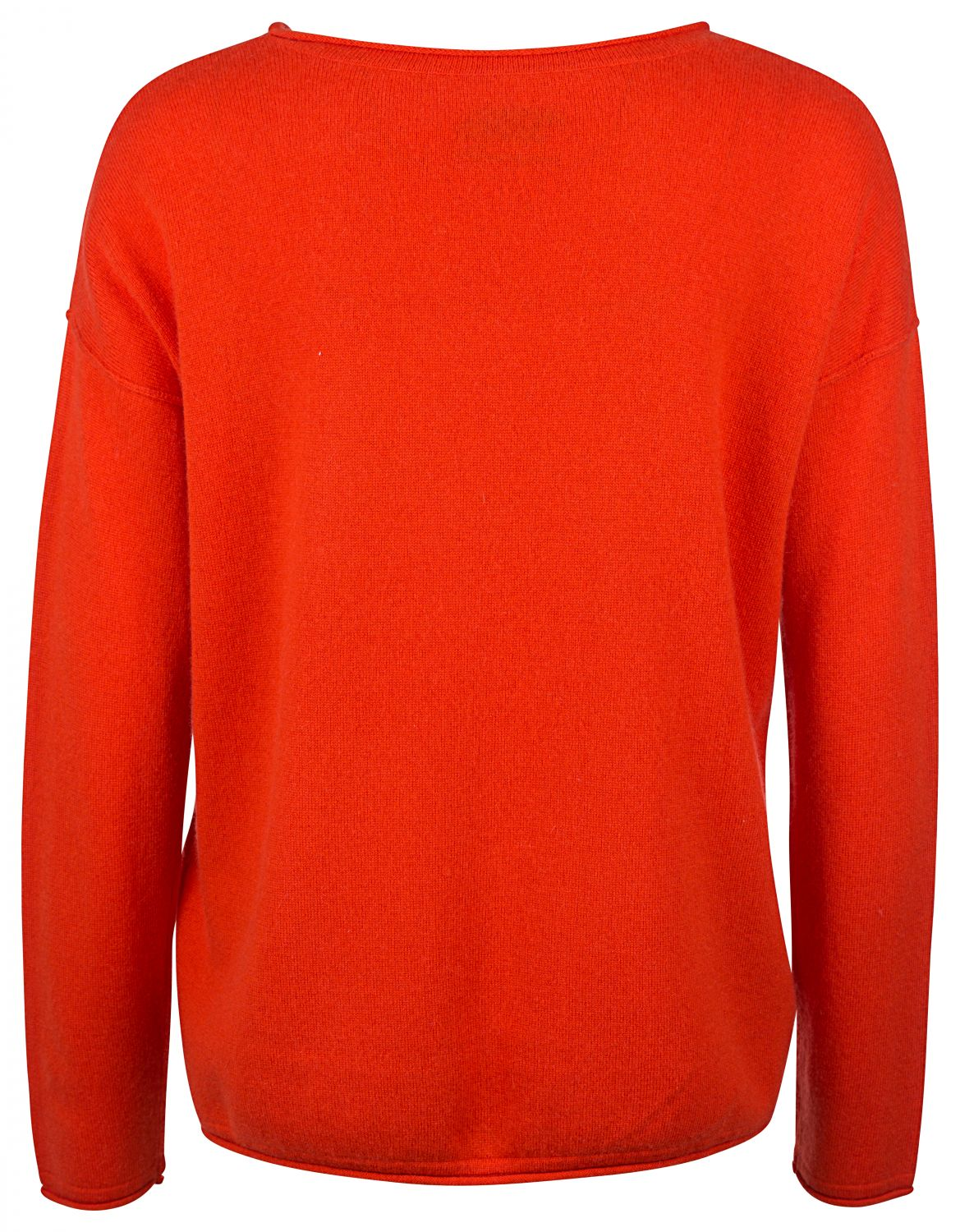 "Grace Damen Strickpullover ""Loved"" Orange 2"
