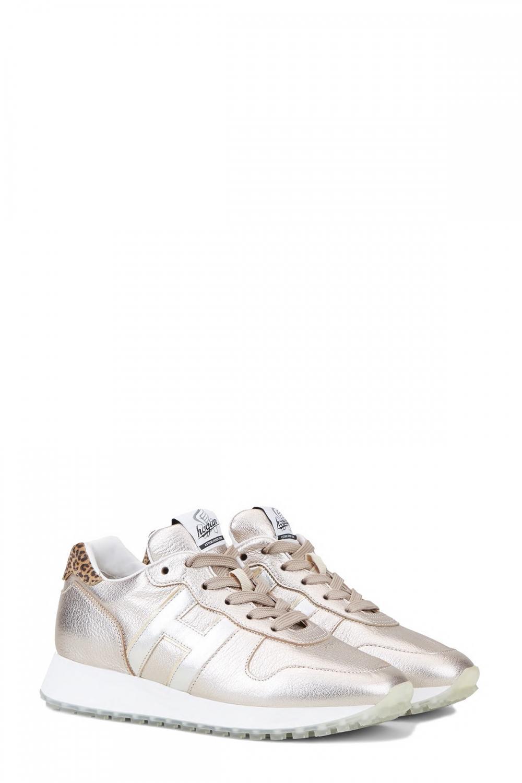 Hogan Damen Sneaker H429 Silber/Gold 2