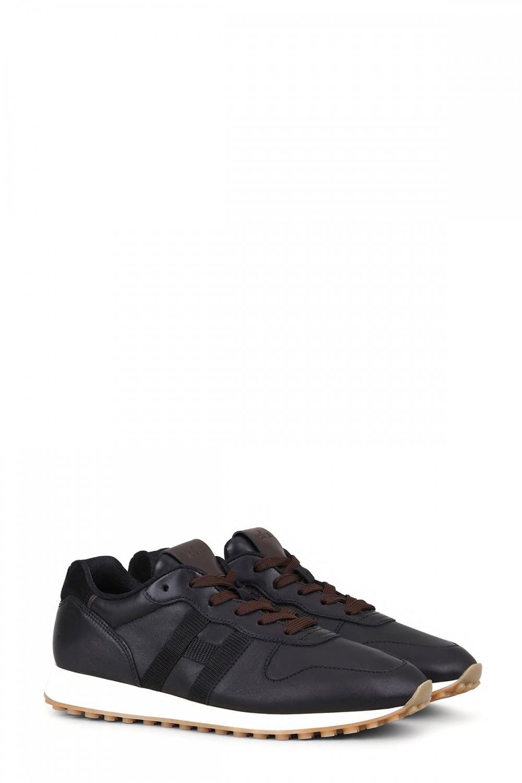 Hogan Herren Sneaker H429 Schwarz 2