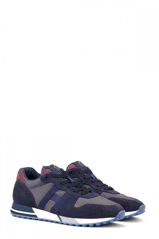 Hogan Herren Sneaker H482 Marineblau 2