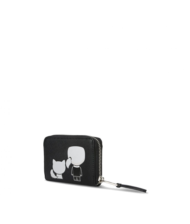 "Karl Lagerfeld Damen Geldbörse ""Ikonik"" Small Schwarz 2"