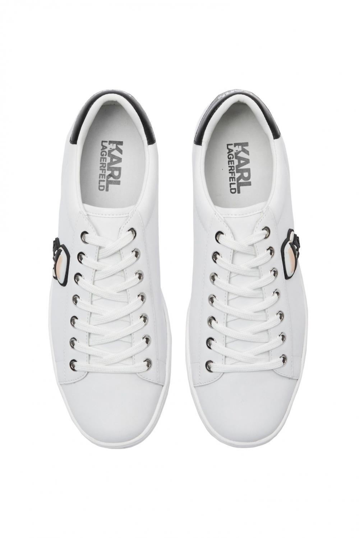 Karl Lagerfeld Damen Sneaker Kupsole II Weiss 2