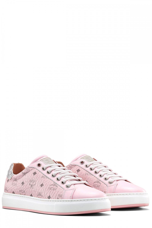 MCM Damen Sneaker Rosa 2