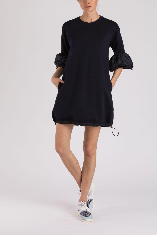 Moncler Damen Jerseykleid Navy 2