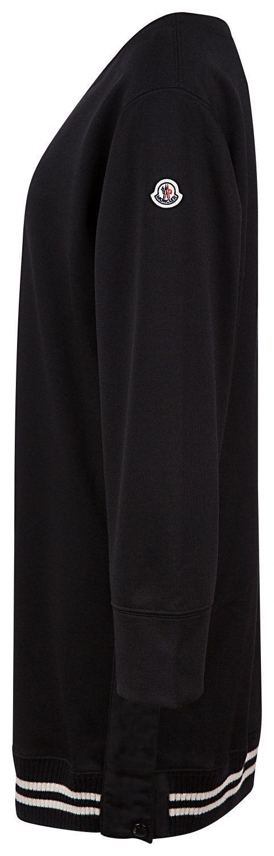 Moncler Damen Jerseykleid Schwarz 2