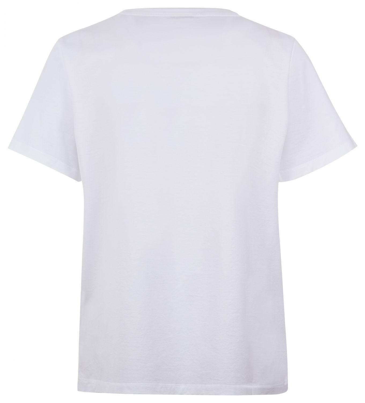 Moncler Damen T-Shirt Weiss 2