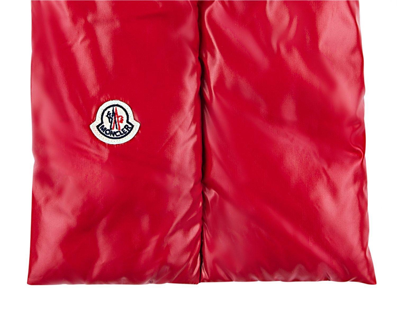 Moncler Daunen-Schal Rot 2