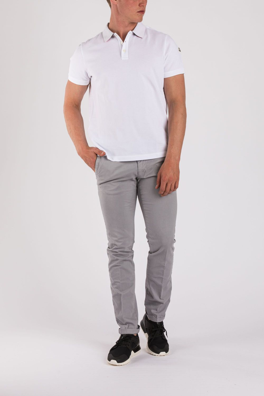 Moncler Herren Poloshirt kurzarm Orange | SAILERstyle