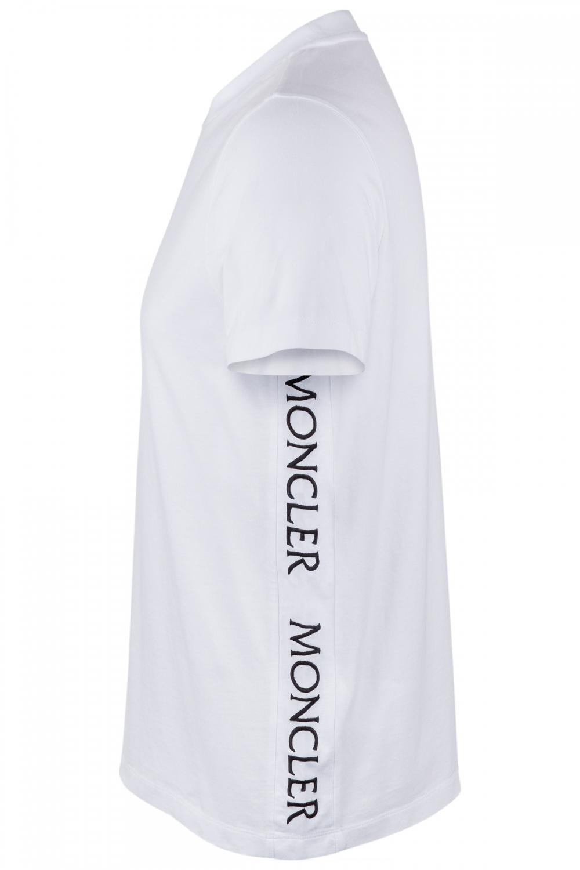 Moncler Herren T-Shirt Weiss 2