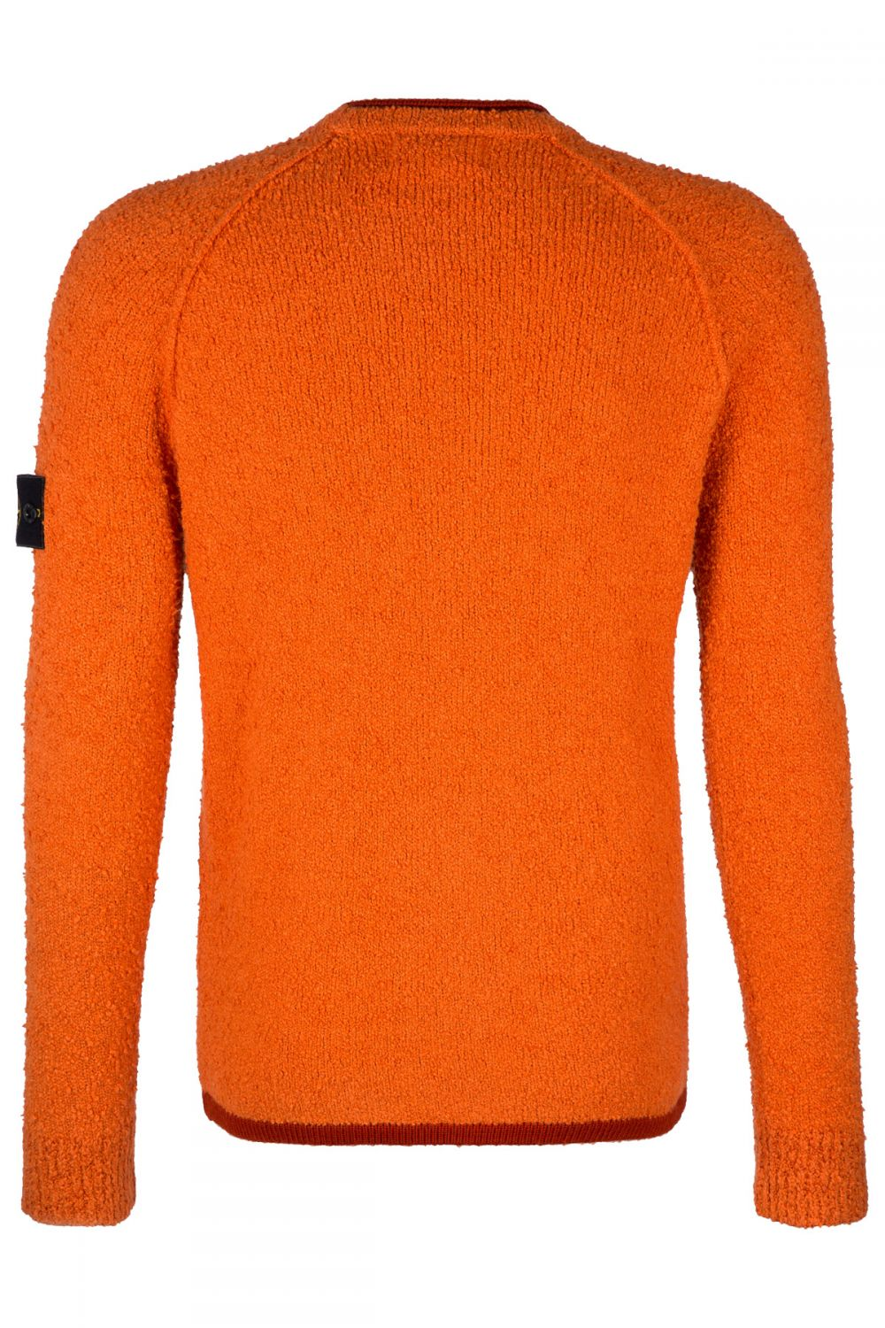 Stone Island Herren Strickpullover Orange 2