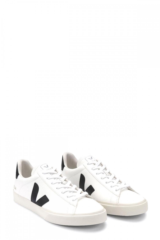 Veja Damen Sneaker Campo Chromefree Extra Weiss 2