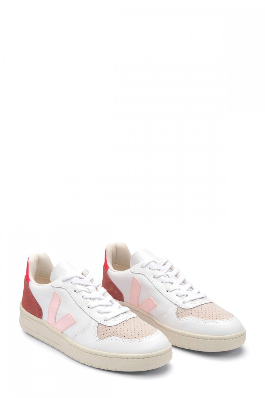Veja Damen Sneaker Fluo Weiss 2