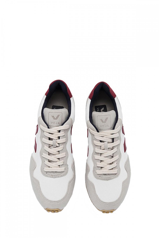 Veja Herren Sneaker B-Mesh White Marsala 2